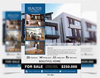 Realtor – Free Flyer PSD Template
