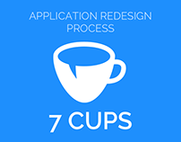 7 Cups Application Redesign Process