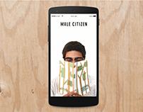 Citizen Supply Microsite