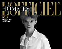 L'Officiel Hommes NL - Thomas Brodie-Sangster