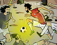 Egypt is out of the WorldCup - Poster