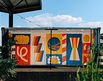 Mural X DJ-Booth