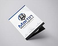 Martin Bi fold brochure design