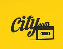 """Logo for e-store """"Citycom"""""""