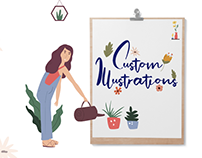 Custom Illustrations for Websites