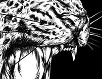 Jaguar Digital Illustration