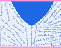 Sloka 57: Poetry and Drawing - Blue Valentine