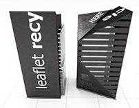 Leaflet recycle bin design