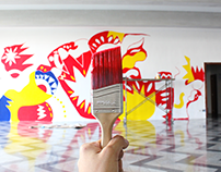 Gigante Blanco CCE/G - Mural Design