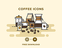 FREE - COFFEE ICONS