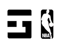 Logos for NBA Award Winners