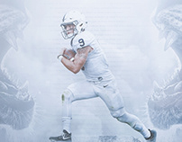 Penn State Football '18 Schedule Poster | PD