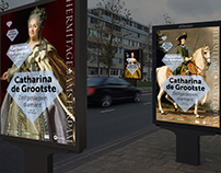 Exhibition campaign Catherine the Greatest