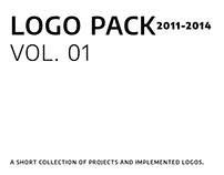 Logofolio 2011-2014, vol. 01