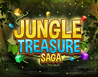 Jungle Treasure Saga - UI/UX Design