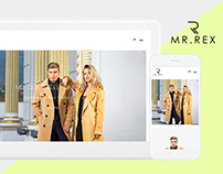 Mr.Rex Fashion - Web Design