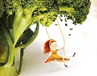 Dia das Crianças - Se alimentar tb é coisa de Criança.