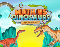 Math vs Dinosaurs - Fun Educational Game