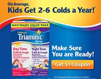 Triaminic Digital Banner Ads