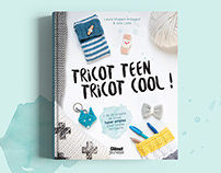 """Livre """"Tricot teen tricot cool"""""""