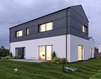 VIZprofistudio Private House in Poland 3D , CGI