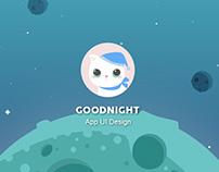 Goodnight   UI Redesign