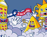 Red Bull - Mega Exposición [Illustration, 2012]