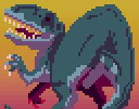 Daily Pixel Dinosaur