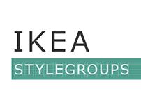 IKEA Style Groups Microsite