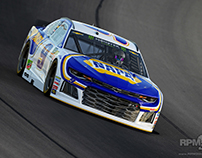 Realistic 3D Render of Chase Elliott's NAPA Car