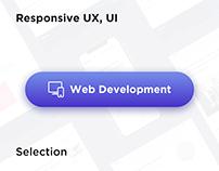 Responsive Web UX UI Development | Selection