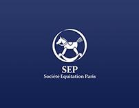 """Website for """"Société d'équitation de Paris"""""""