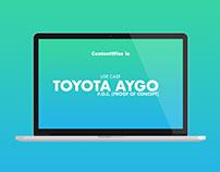 Use Case Design - Toyota Aygo P.O.C.