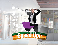 Fibrecom - Speed it up! - Brand Launch Campaign