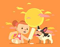 Summer - Animated Gif