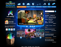 The Childrens Museum of Indianapolis Website Design