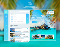 Convenient Platform for choosing the type of travel