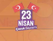 23 Nisan 11 Yabancı Ülkenin Katılımıyla Çocuk Festivali