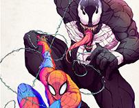 Spider-Man and Venom - Poster