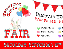 Spiritual Gifts Fair Logo and Promo