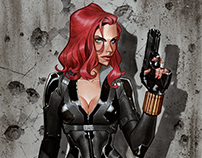 Black widow commission