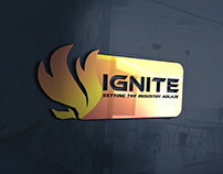 IGNITE Company Logo Design.