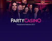PartyCasino - Rebrand 2017