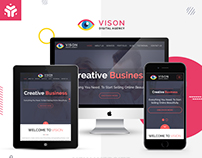 Vision Digital Agency – Multipurpose One Page HTML