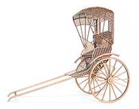 Human Powered Rickshaws Part 1