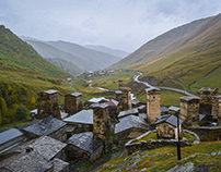 Svaneti region - Mestia and Ushguli. Georgia