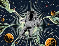 """Lost In Space """"Retro Comic"""""""