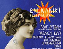 Poster for Balkanik 2018 music festival