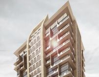 Ahli United Bank building (G+M+18) - KSA