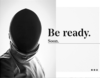 Coming Soon Page – Concept